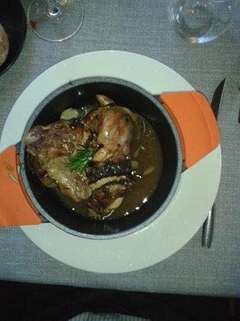Restaurante Alfileritos 24: Cabrito. Con perdón