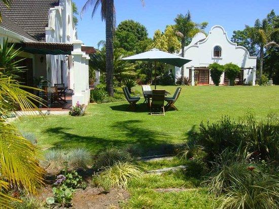 The Garden Villa: Garden view