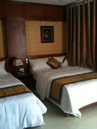 Thao Minh New Star Hotel: bed room