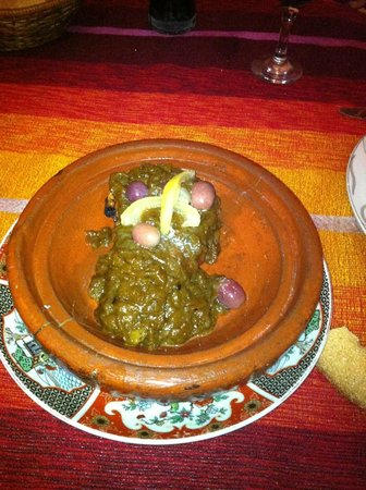 Dar Touria: pollo al limón....para 2