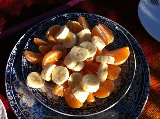 Dar Touria: fruta