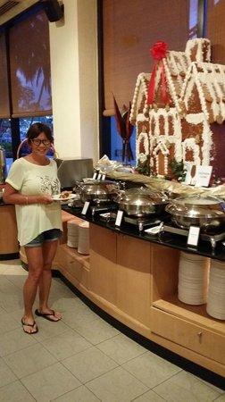Hilton Kuching: breakfast