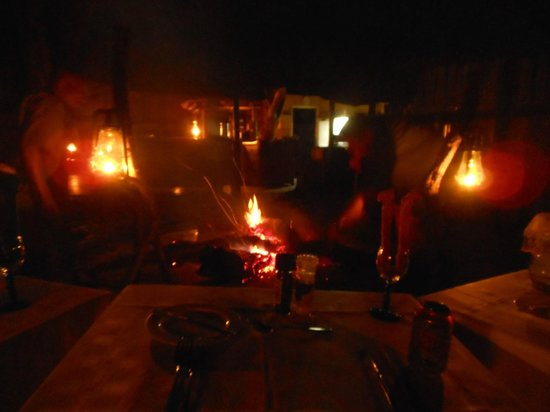 Tangala Private Camp : Braai
