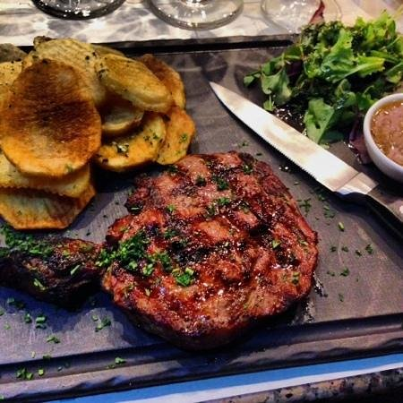 L'Annexe : yummy strak cooked to perfection