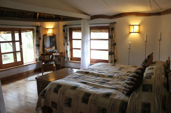 Chui Lodge: Our room