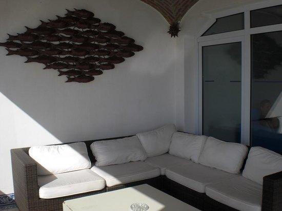 Belver Boa Vista Hotel & Spa: terrazza della hall