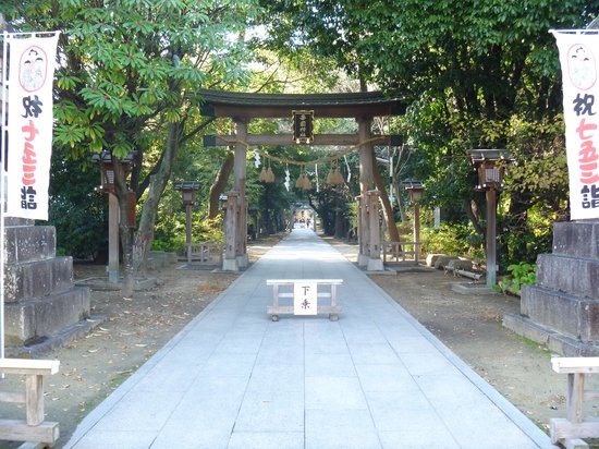 Fujiidera, Japan: 参道