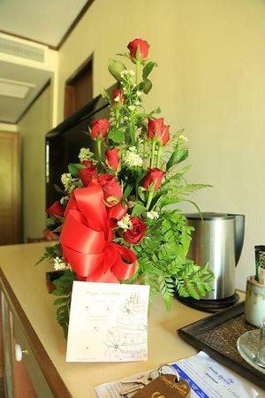 Smile House Resort: Поздравление от отеля
