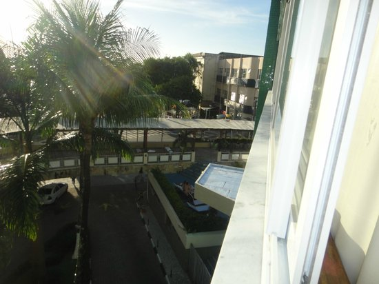 Hotel Sol Barra: Room view from lower floors,room 208