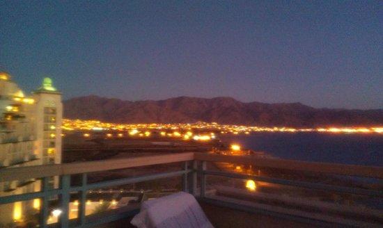 Herods Vitalis Spa Hotel Eilat: sunset time