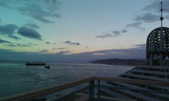 Herods Vitalis Spa Hotel Eilat: winter rmorning