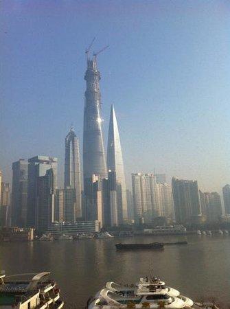 Hotel Indigo Shanghai on the Bund: View from Breakfast
