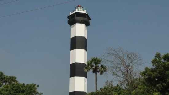 Pulicat Bird Sanctuary: light house-pulicat