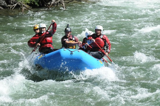 Rafting por La Noguera Pallersa con La Rafting Company