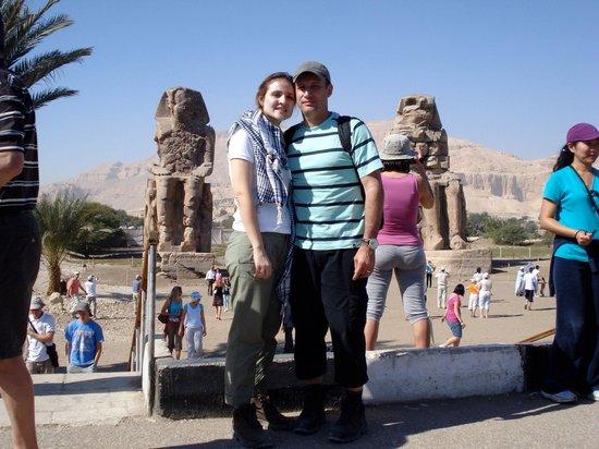 Colossi of Memnon: Colosso de Memnon - Tebas