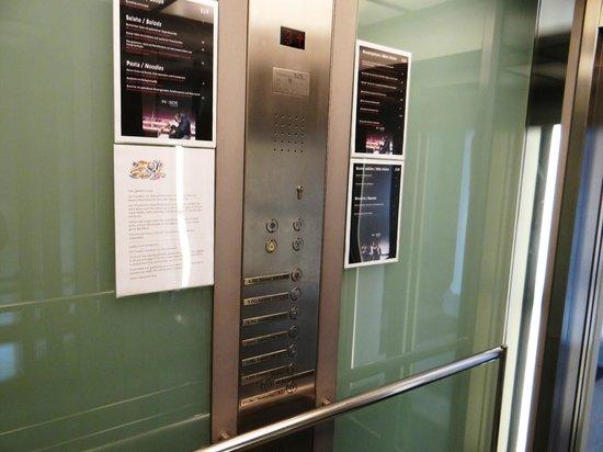 Select Hotel Berlin Ostbahnhof: Innside Premium Hotels Berlin - lift
