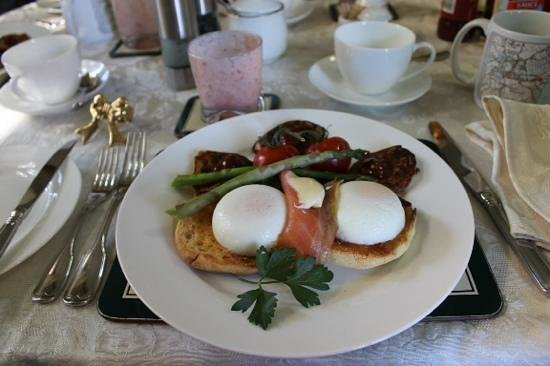 Forgandenny House Bed and Breakfast: Main breakfast