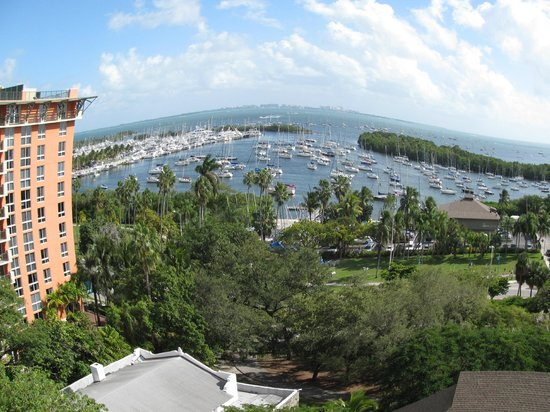 Sonesta Coconut Grove Miami : The Bay view from a room with Balcony !
