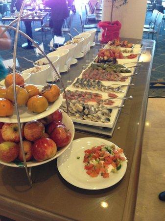 Daniel Herzliya Hotel : Завтрак