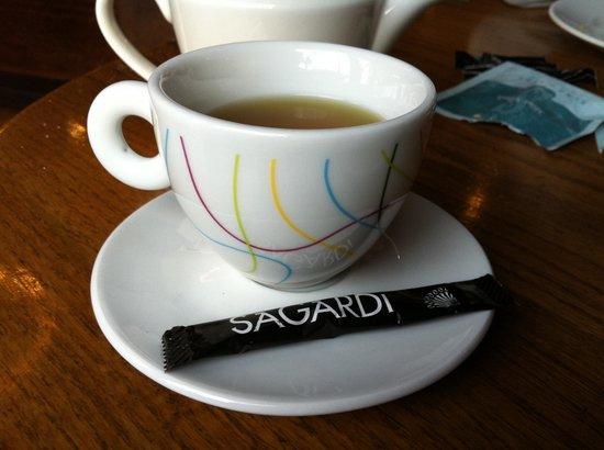 Sagardi BCN Centre: Вкусный кофе