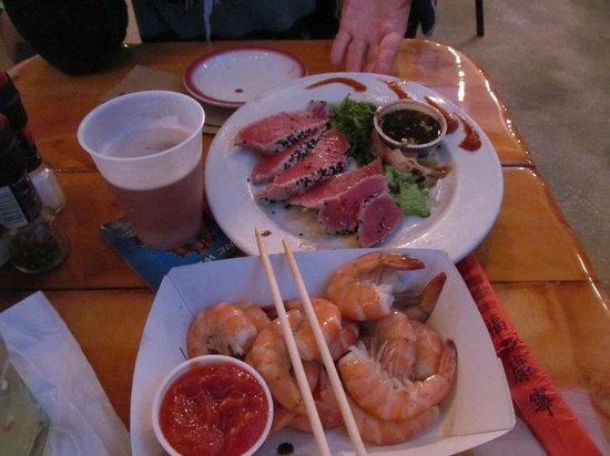 Sparky's Landing Fish and Cocktails: Happy Hour Sanck