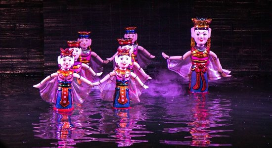 Thang Long Water Puppet Theater: The fairies