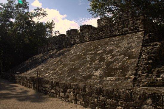 Ruinas de Coba: Поле для игры в мяч.