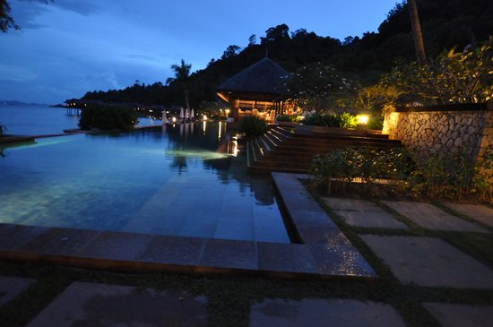 Pangkor Laut Resort: Beautiful night view