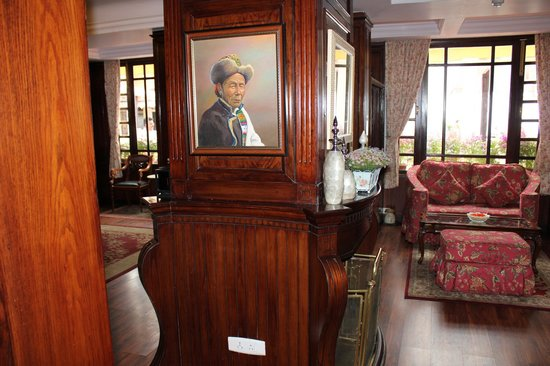 Mayfair Darjeeling: Well appointed Lobby