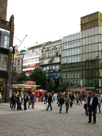 Wenceslas Square: Via e Piazza Venceslao