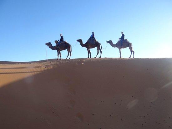 Chez Youssef: vers le désert