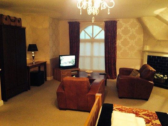 The Angel Inn : Our room