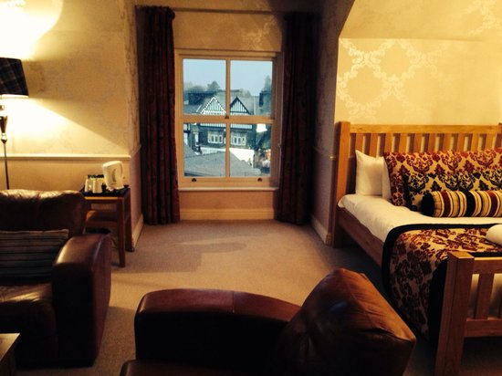 The Angel Inn : Room with a view