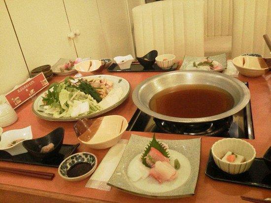La Vista Izusan: 食事