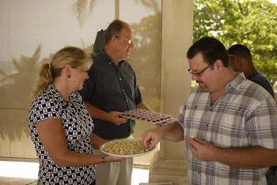 OceanSide Christian Fellowship: Communion is served each week