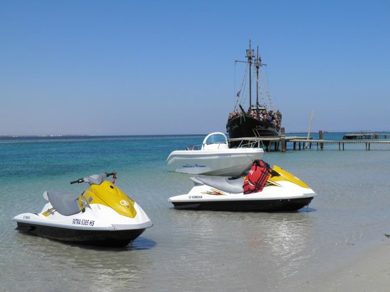 Djerba Holiday Beach : balade en jet sur l'ile des flammants rose