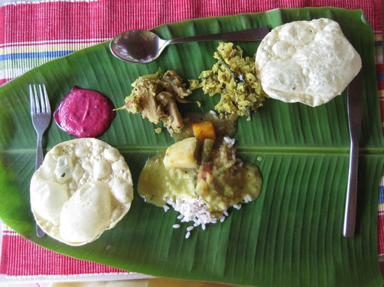 Kadaltheeram Ayurvedic Beach Resort: Fantastic Food