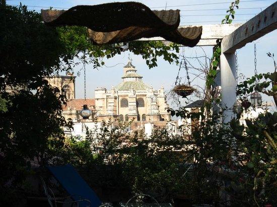 Pension Landazuri: Dachterrasse