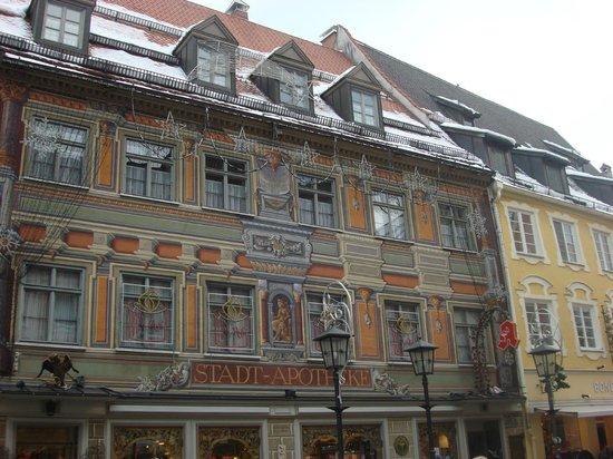 Altstadt von Fuessen: городская аптека