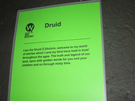The National Wax Museum Plus : Druid