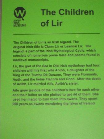 The National Wax Museum Plus : Children of Lir