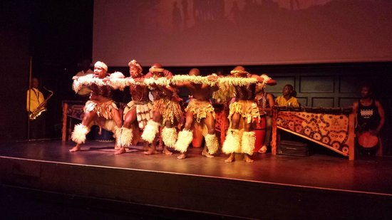 The African Dance Theatre: African Dance Theater Performance