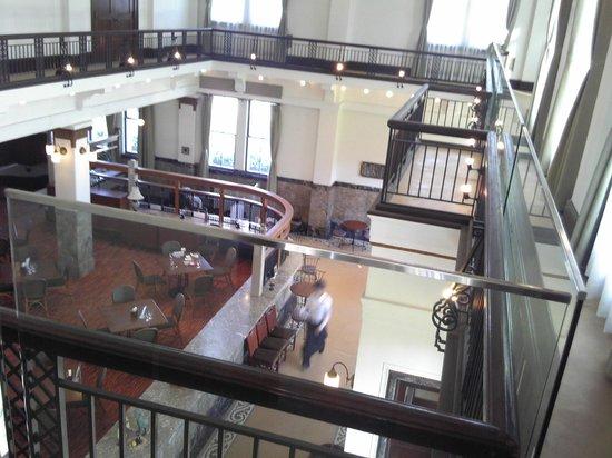 Porutokabudocchi : 2階から