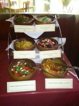 Lazaat Restaurant & Bar: Salad Selection