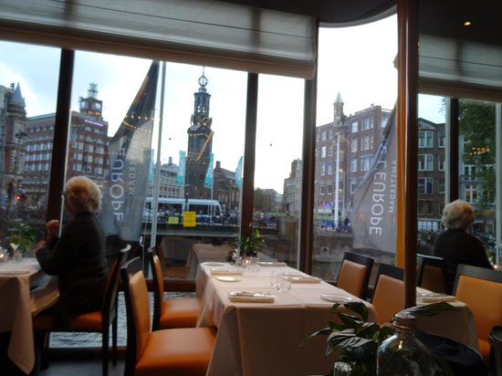 De L'Europe Amsterdam : from the restaurant in the hotel