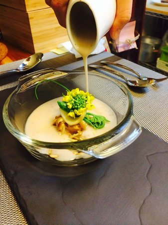 Bistro Alley : Cream of Water chestnut soup