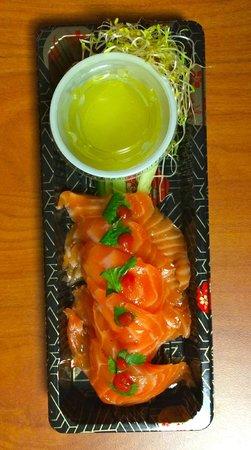 Salmon Tiraditos - Rice Monkeys (best quality salmon in Durango)