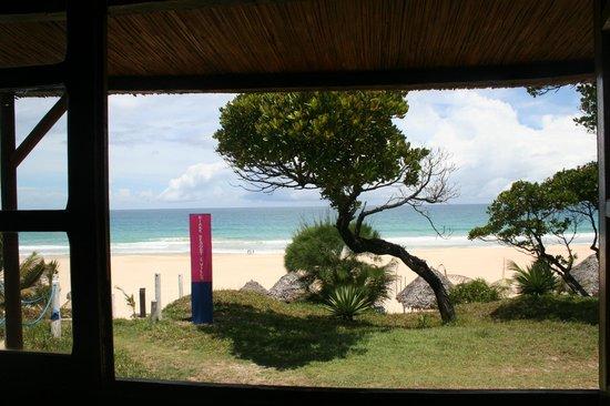 Riake Resort & Villa: vu de la fenetre du bungalow