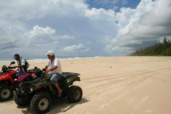 Riake Resort & Villa : excursion en quad