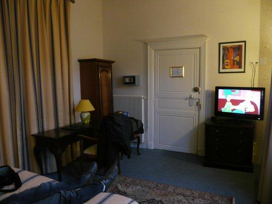 Hotel Le Plantagenet: chambre